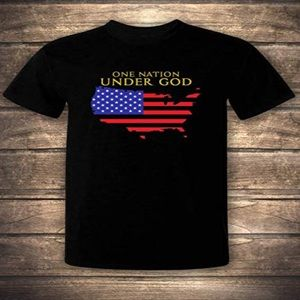 One Nation Under God American T-shirt
